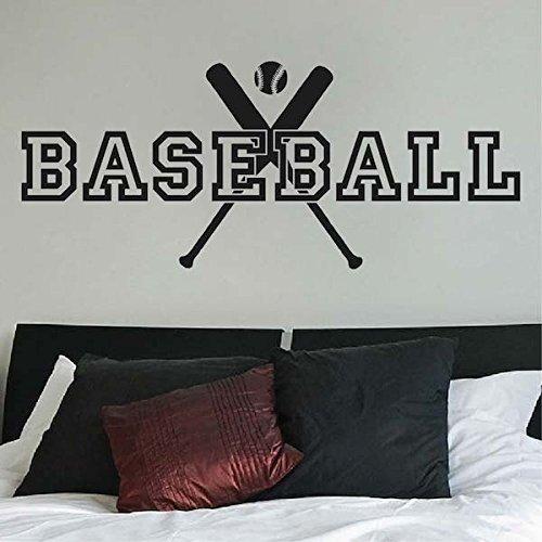 Baseball Wall Decal Kinder Baseball Schlafzimmer Aufkleber Baseball Wandbilder Schlafzimmer Baseball Thema Dekor Junge Baseball Aufkleber Baseball Kunst 20b