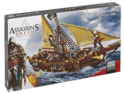 Assassin's Creed - Lancha cañonera Mega Bloks DBJ05