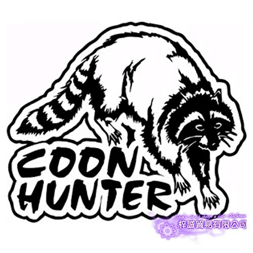 yaoxingfu Caza Coon Hunter Decal Club de Caza Pegatina...