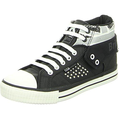 British Knights ROCO Union Jack Sneaker Schwarz/Silber EU38