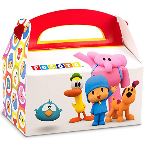 Pocoyo Party Supplies - Empty Favor Boxes (4) by BirthdayExpress