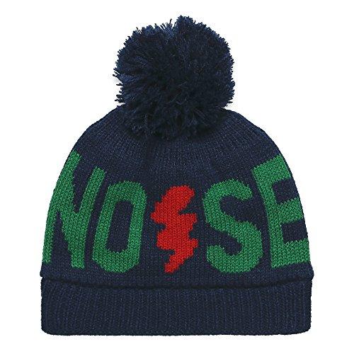 ESPRIT Jungen Mütze Knit Hat, Blue (Deep Indigo), Medium (Cap Knit Cotton)