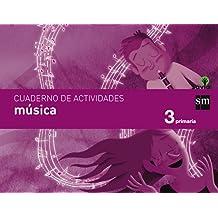 Cuaderno de música. 3 Primaria. Savia - 9788467570106