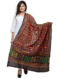 Banjara Women's Kutchi Work Dupatta Bharchak