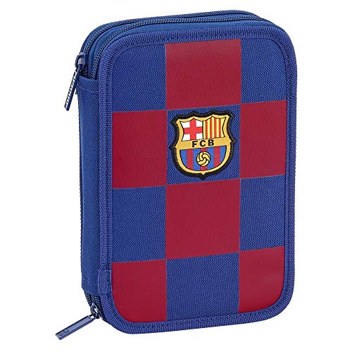 FC Barcelona - FEDERTASCHE 34-TEILIG - Kollektion BLAU/ROT -