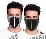 #6: Kallpp Fashions Bike Riding & Cycling Anti Pollution Dust Sun Protection Half Ninja Face Cover Mask (Black) (Pack Of 2)