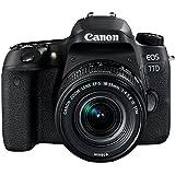 Canon EOS 77D 18-55mm Fotoğraf Makinesi, Full HD (1080p), Siyah, 2 Yıl Canon Eurasia Garantili