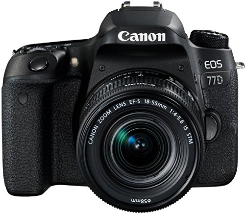 Canon EOS 77D - Cámara réflex 24.2 MP vídeo Full