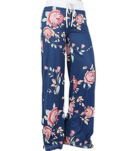 Zhaoyun - Pantalon - Femme - bleu - X-Large