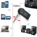 #9: Bluetooth Stereo Adapter Audio Receiver 3.5Mm Music Wireless Hifi Dongle Transmitter Usb Mp3 Speaker Car