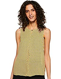 Annabelle By Pantaloons Women's Checkered Regular fit Top