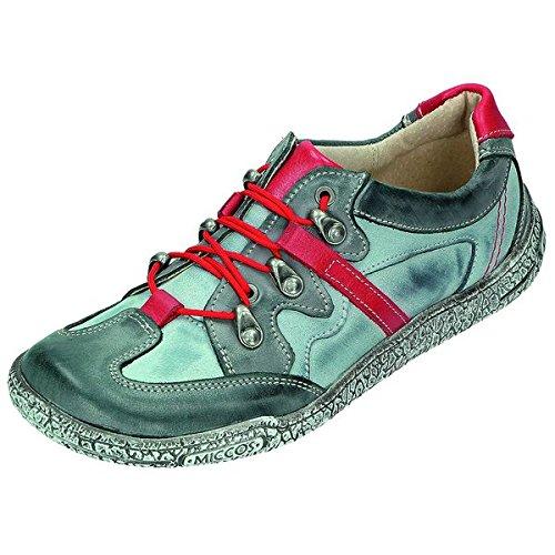 MICCOS Shoes Chaussures pour Femme Sportif 200716 Gris - Grau/Rot