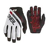 O'Neal Mayhem Rizer MTB Fahrrad Handschuhe DH Downhill All Mountain Bike Freeride MX Cross, 0385, Farbe Weiß, Größe M