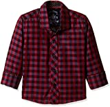 Gini & Jony Baby Boys' Shirt (121010270888 1263_Avenue Purple_9-12 months)