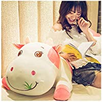 Pink Cute Cow Plush Toy Rag Doll Sleeping Pillow Bed Doll Girl Doll Gift