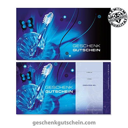 LIEFERZEIT 2 bis 4 Werktage ! Premium Gutschein Boxen f/ür Zahn/ärzte 10 Stk Kieferorthop/äden ZA300