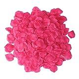 S/O 500er Pack Rosenblätter Rosenblüten Pink Rosen Blätter Blüten Kunstblumen Seidenblumen