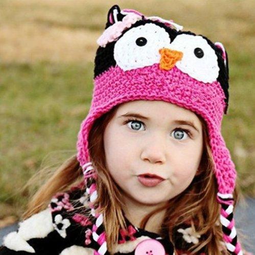 Cute Baby Girl Boy Crochet Hat Kids Knit handgefertigt Gap (Christmas Crochet Tree)