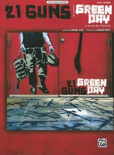 21 Guns: Easy Piano (Sheet) by Joe, Billie, Green Day, Matz, Carol (2009) Sheet music