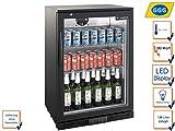 Profi Flaschenkühlschrank, 138 Liter, 0° C/ +10° C, Umluftkühlung, abschließbar, GGG LG-138