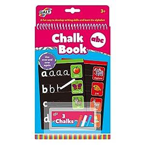 Galt Toys 1105473 Chalk ABC, Libro de Alfabeto para niños