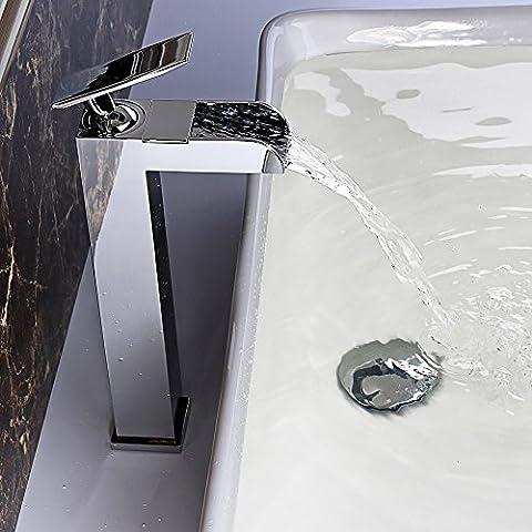 jiayoujia Cascada cascata alto rubinetto miscelatore monoblocco,