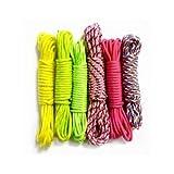 6 bobines de fil Paracorde Rainbow