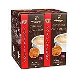 Tchibo Cafissimo Caffè Crema vollmundig Kapseln, 120 Stück (4 x 30 Kapseln)