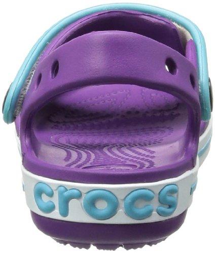 Crocs Band, Sabots mixte enfant Violet (Dahlia/Aqua)