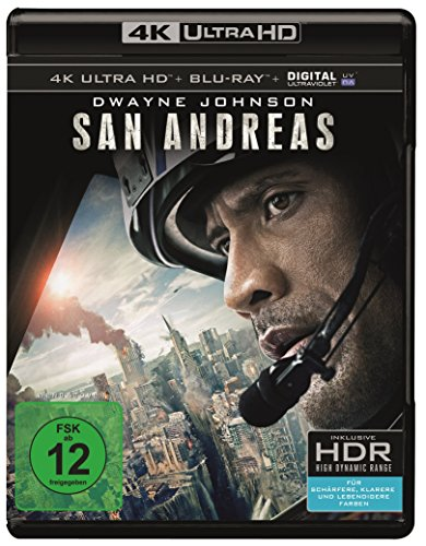 San Andreas  (4K Ultra HD + 2D-Blu-ray) (2-Disc Version)  [Blu-ray]