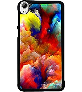 ColourCraft Beautiful Drawing Design Back Case Cover for HTC DESIRE 826