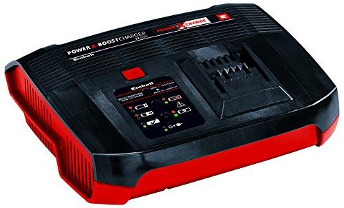 Einhell Ladegerät Power-X-Boostcharger 6 A Power X-Change (Li-Ion, für alle PXC-Akkus verwendbar, Boostmode zum schnellen Laden, intelligentes Lademanagement mit Akku-Überwachung, 6-Stufen-Ladesystem)