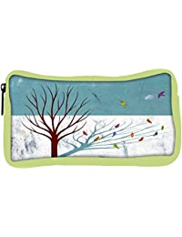 Snoogg Eco Friendly Canvas Broken Social Scene Feel Good Lost Designer Student Pen Pencil Case Coin Purse Pouch...