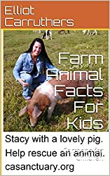 Farm Animal Facts For Kids: Cartoons for Children (Fun Animal Facts Book 1)