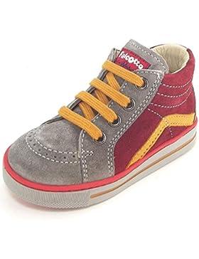 Naturino Krazy - Zapatos primeros pasos de Piel para niño Gris gris
