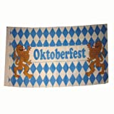PARTY DISCOUNT Flagge Bayern / Oktoberfest, 90x150 cm