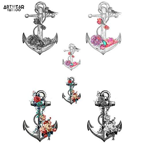 tatouages-temporaires-artwear-tattoo-anchor-flowers-6-tattoos