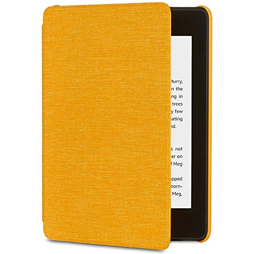 All-New Kindle Paperwhite Water-Safe Fabric Amazon Cover (10th Gen), Yellow