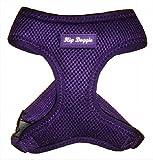 Hip Doggie HD-6PMHPR Ultra Comfort Harness Vest Hundegeschirr, S, lila