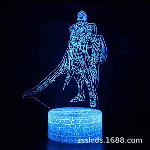 Home Office Dekoration Nachtlicht bunte Fernbedienung Licht kreative LED Touch Tischlampe Geschenk Licht 207 -