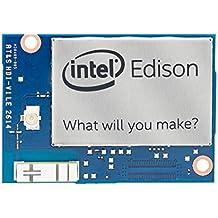 Intel Edison Compute Module (IoT) - placas de desarrollo (Intel® Atom™, 25 x 35,5 mm, 802.11a, 802.11b, 802.11g, 802.11n, LPDDR3, 70-pin Hirose .4mm, Dual)