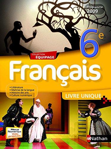 FRANCAIS 6E LIV UNIQ EQUIPAGE