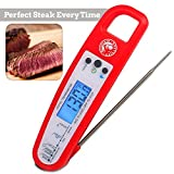 Digitales Fleischthermometer Mountain Grillers | Grill- und Bratenthermometer mit klappbarer Sonde und LCD-Anzeige für Kochen, BBQ, tolles Fleisch | sehr robustes, präzises und schnelles Thermometer