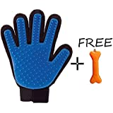 Goofy Tails Super Touch Five Finger Deshedding Grooming Glove For Dogs & Cats