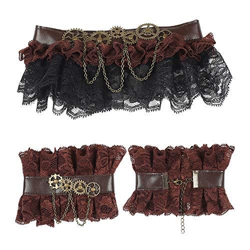 WIDMANN Steampunk 9776 - Collar para mujer, multicolor