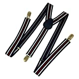 Ammvi Creations Triple Stripes Navy Blue...