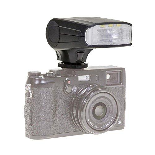 Dörr 370300 TTL Systemblitzgerät DAF-320 für Canon Kamera (Leitzahl 32, ETTL-Blitzautomatik, Stroboskopfunktion, Diffusorvorsatz, Tasche/Standfuß) (Kamera-tasche N)