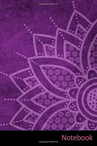 Notebook: Mandala Sfondo, Mandala, Mandala Design, Zen agenda / quaderno delle annotazioni / diario / libro di scrittura / taccuino / carnet / ... x 22,86 cm), 150 pagine, superficie lucida.