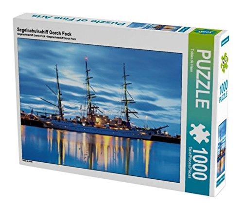 Preisvergleich Produktbild Segelschulschiff Gorch Fock 1000 Teile Puzzle quer (CALVENDO Orte)