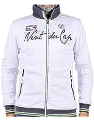 Vent du cap-chaqueta-sweat Hombre CELO-blanco